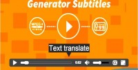 Subtitles generator