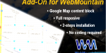 Map google webmountain for block
