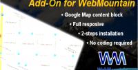 Map google webmountain for block