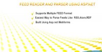 Reader for rss atom & rdf net asp using reader