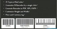 Barcode simple generator