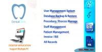 Clinic dental management manage patient system invoice procedure