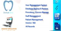 Clinic dental management manage patient system invoice procedure