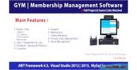 Club gym membership mysql management c system