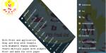 Website royal & cms content management live system page edit widg menu dynamic