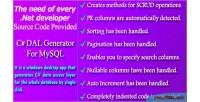 Dal c generator code for source mysql