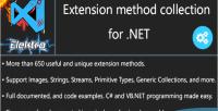 Huge net collection methods extension