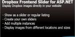 Frontend dropbox slider net asp for