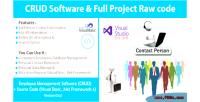 Management employee crud software