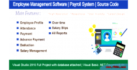 Management employee software payroll attendance system all hrm full report