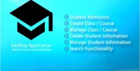Management student system project full code source with