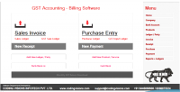 Accounting gst code source software