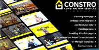 Construction constro theme umbraco business