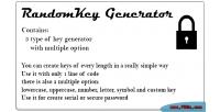 Generator randomkey