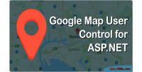 Google map user control net asp for