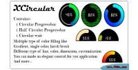 Net xcirculer custom control