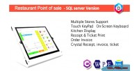 Point restaurant of sale pos rest sql wpf c
