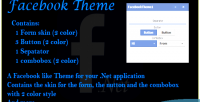 Theme facebook for net