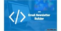 Email bal newsletter version mvc builder