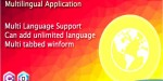 Language multi application winform in multilingual c