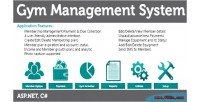 Management gym system feature sms with