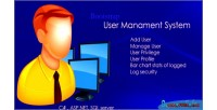Management user system net asp c