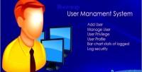 Management user system net asp c