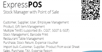 Stock expresspos manager sale with of point