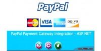 Payment paypal gateway net asp integration