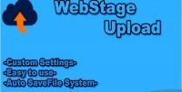 Upload webstage