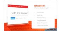 A ebloodbank premium system bank blood
