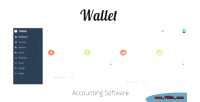Accounting wallet software
