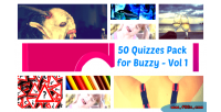 50 quizzes pack for 1 vol buzzy