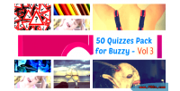 50 quizzes pack for 3 vol buzzy
