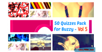 50 quizzes pack for 5 vol buzzy