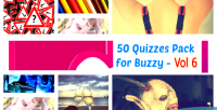 50 quizzes pack for 6 vol buzzy