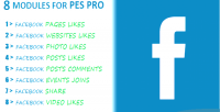 8 facebook modules for pes pro api new with