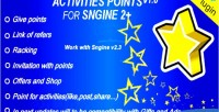 Activities plugin sngine for points
