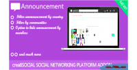 Addon announcement for crea8social