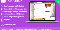 Addon chatbox for networking social creea8social