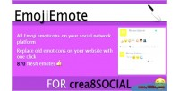 Addon emojiemote for crea8social