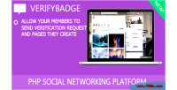 Addon verifybadge for crea8social