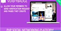 Addon verifybadge for crea8social
