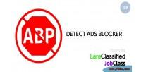 Ads detect blocker for plugin jobclass & laraclassified