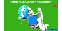 And contact basic socialkit for info
