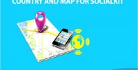 And country socialkit for map