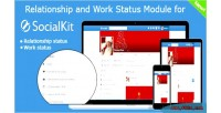 And relationship work socialkit for status