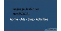 Arabic language for crea8social