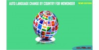Auto language change by wowonder for country