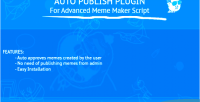 Auto publish plugin advanced script maker meme